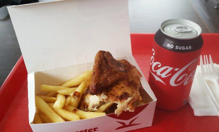 Coke Zero werkt, maar niet met frietjes