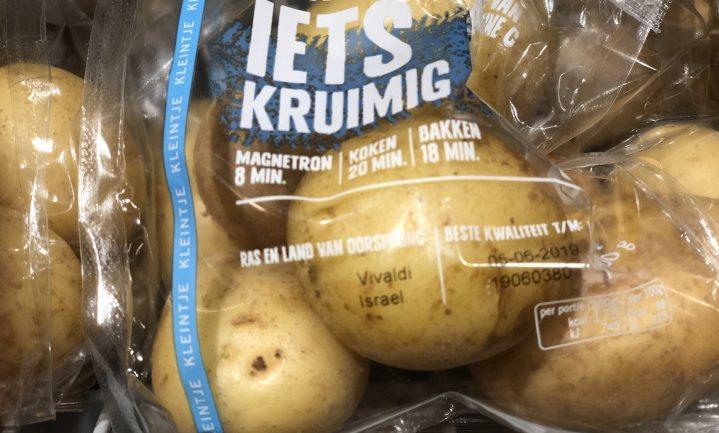 Songfestival in het aardappelschap