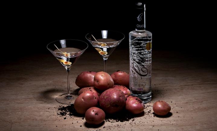 Slimme aardappelboeren maken wodka