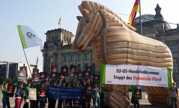 EU schuift TTIP op lange baan