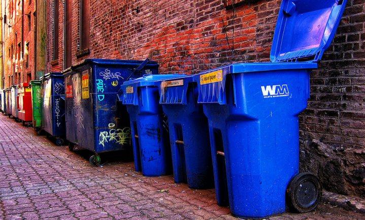 Klokhuizen bij het GFT en melkpakken bij het PMD - Nederlanders doen het goed met afval scheiden
