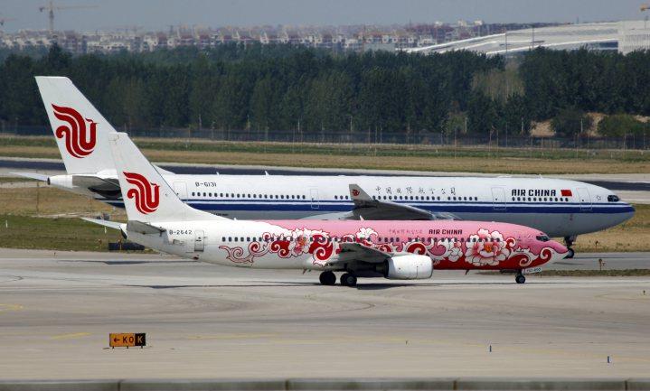 Koukleumen en op een houtje bijten in het Chinese luchtruim