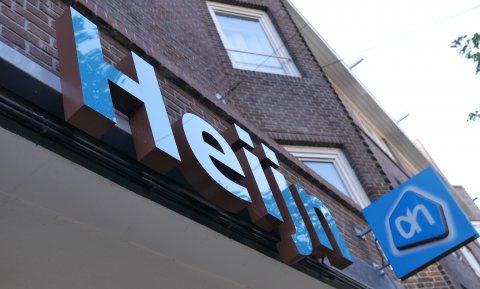 Amsterdamse AH-winkels dichtgelijmd