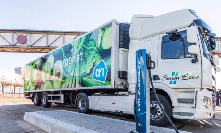 Elektrische trucks die supers beleveren minder duurzaam dan slimme thuisbezorgers