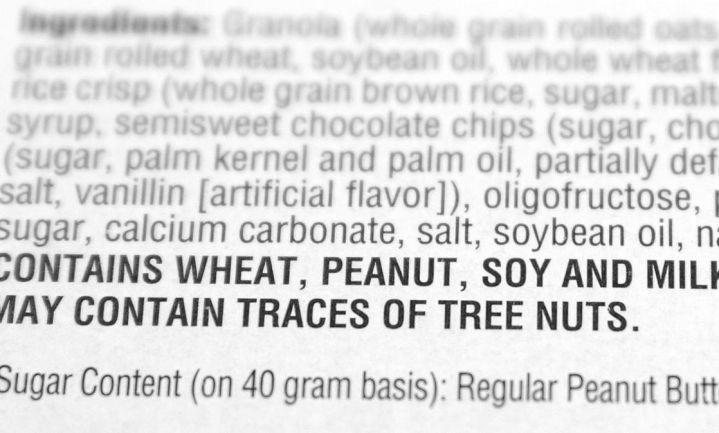 Canadese onderzoekers willen meer informatie over voedselallergie op etiket