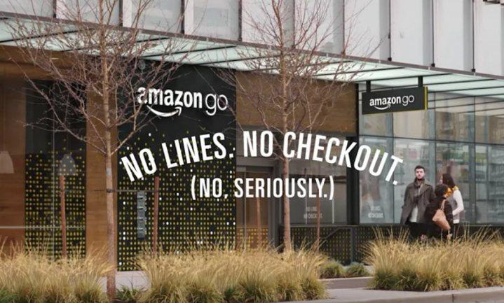 Toch je portemonnee mee naar kassaloos Amazon Go