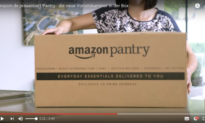 Amazon bezorgt boodschappen in België en Frankrijk