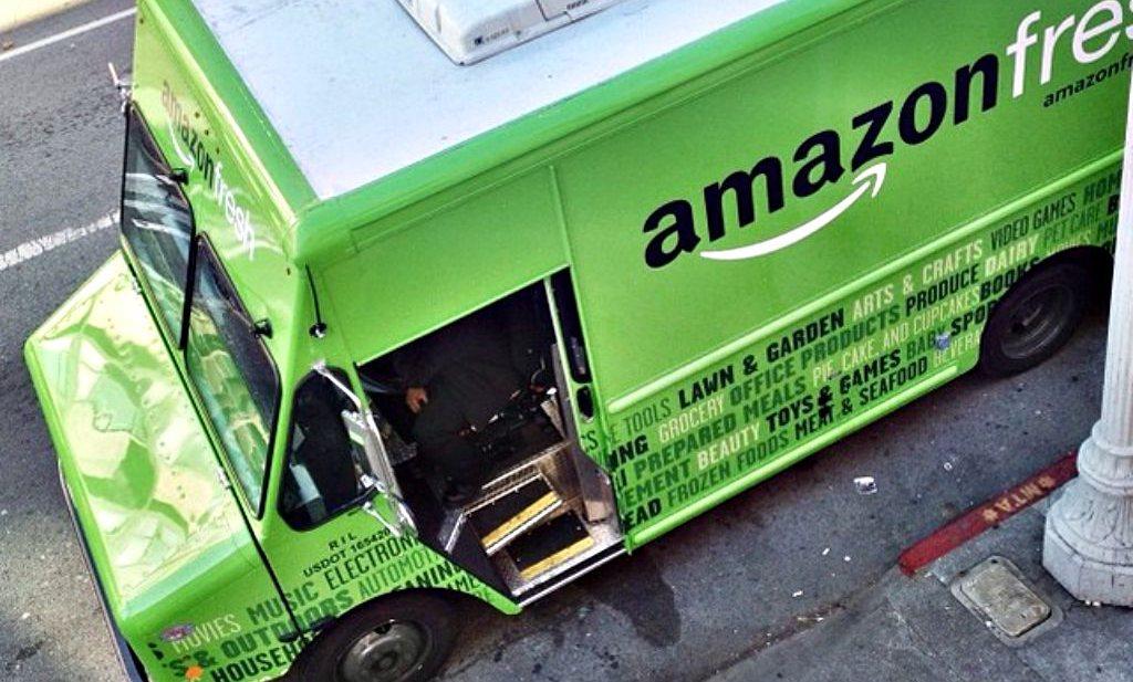 Wat gebeurt er als Google en Amazon slagen in food?