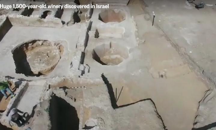 Antieke Israëlische wijnfabriek ontdekt