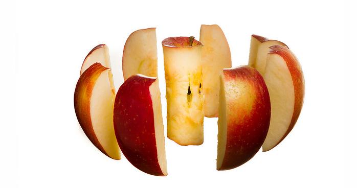 Snoep verstandig, snijd een appel