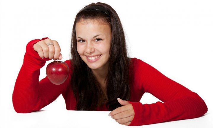 Tieners eten gezond als symbool van verzet