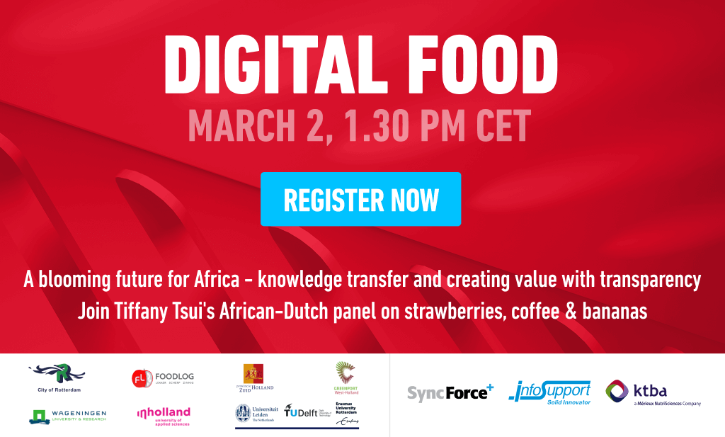 A blooming future for Africa - knowledge transfer & creating value with transparency
