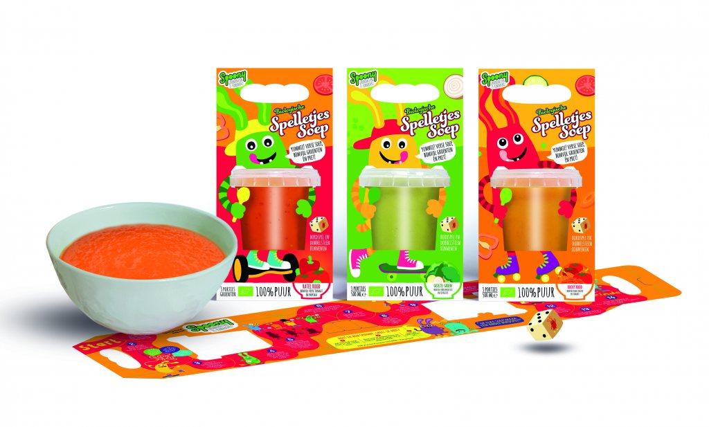 Dubbel genomineerd: Spoony maakt gezond eten leuker voor kinderen met Spelletjes Pasta en Soep