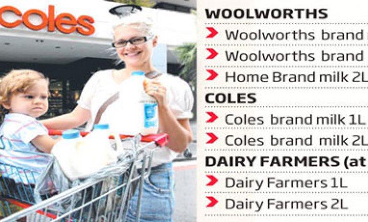 Australische supers leggen melkproductie stil