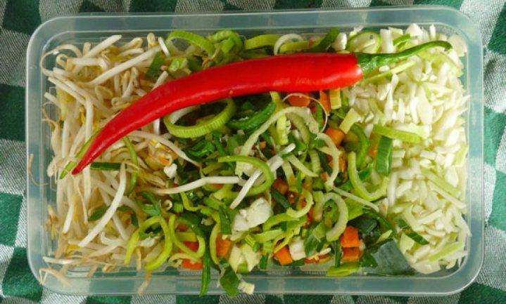 'Ik mijd voorgesneden groenten als de pest'