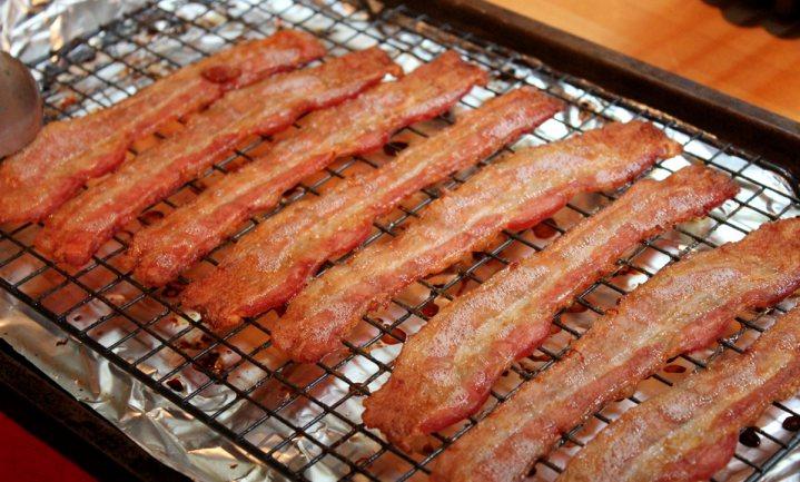 Baconpleister voor vleesverslaafde