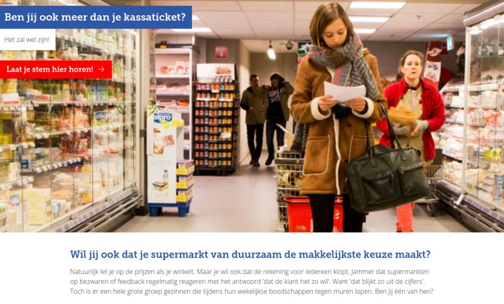 Belgische consumenten willen bijles van de supermarkt