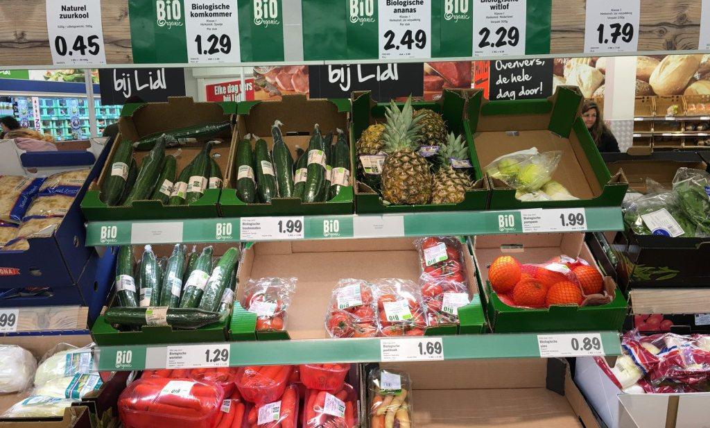 Nederlander wil niet duur biologisch eten