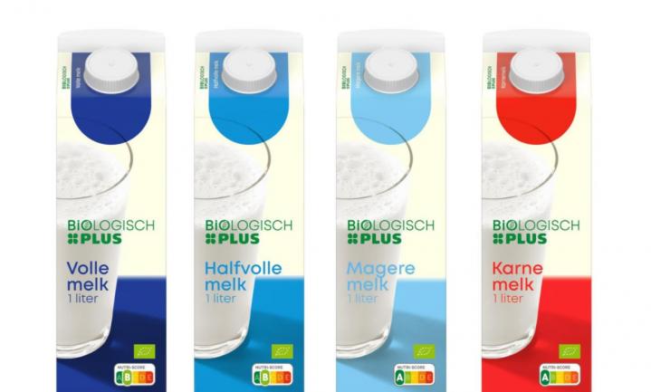 Plus doet gangbare melk de deur uit - biologisch voor de prijs van 'gewone'