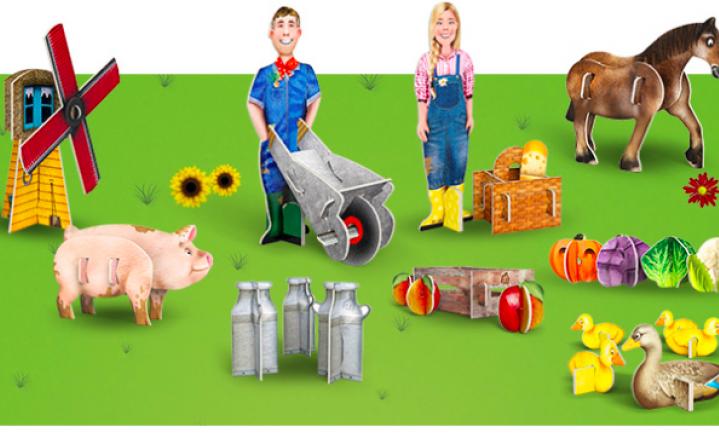 AH maakt reclame voor het boerenleven
