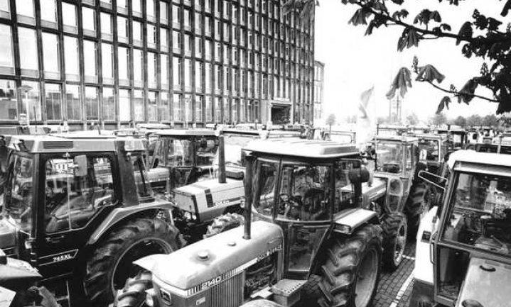 Boerenprotest op 1 oktober in Den Haag: OM duldt geen tractoren