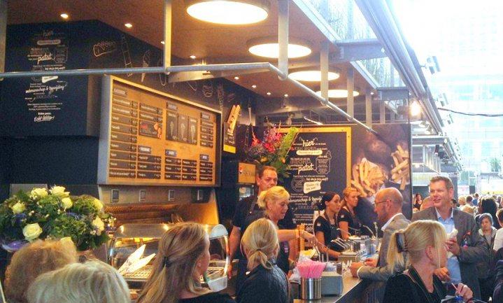 Patat favoriet in culi-Markthal Rotterdam