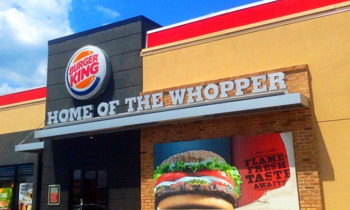 Burger King stuurt je naar McDo enzo