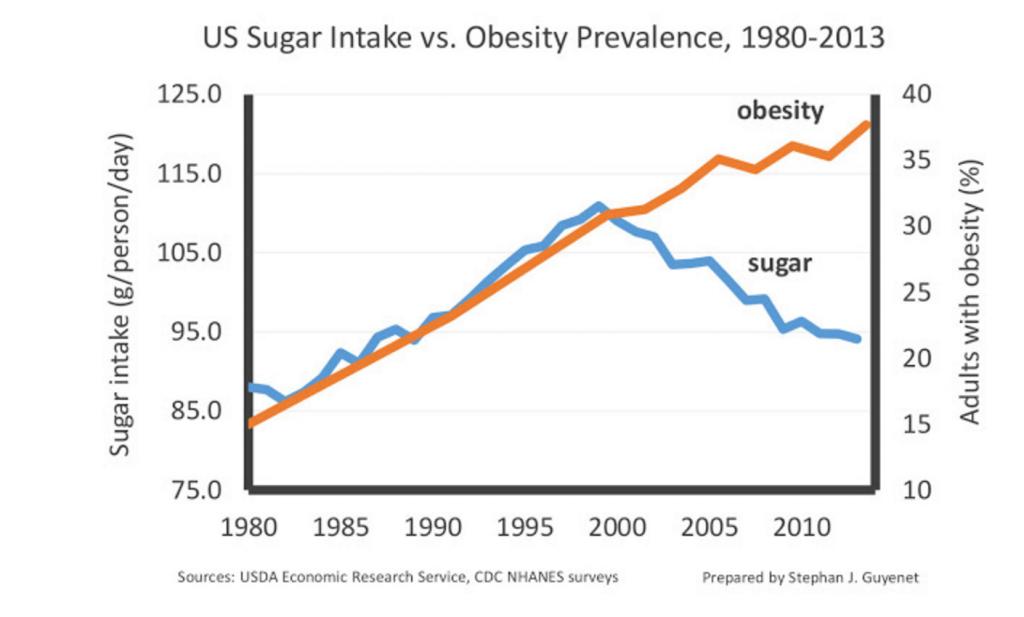 Minder koolhydraten, toch dikker - hoe kan dat?