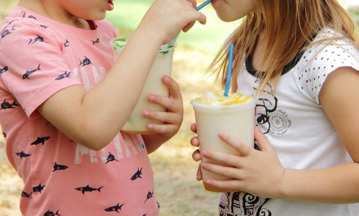 Aardbeienmilkshakes tellen ook als fruit, toch?