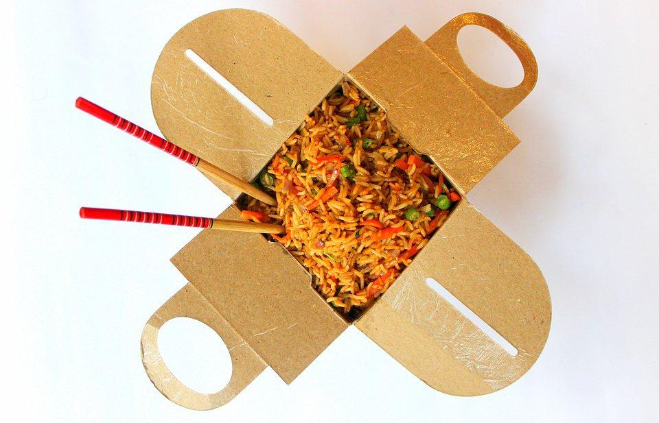 Rood voor vele Chinese afhaalmaaltijden in Engeland