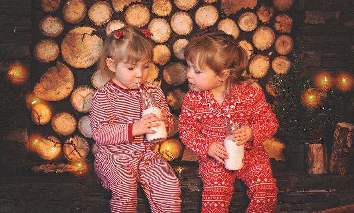 Water en melk en niets anders voor jonge kinderen