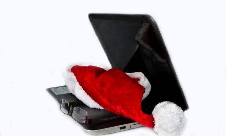 Kerstfeest wordt thuisbezorgd want het sneeuwde even