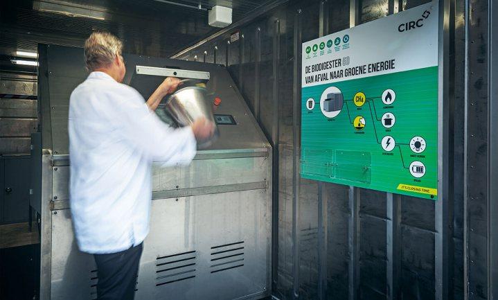Vergister verwarmt hotel & sportcentrum Papendal met GFT