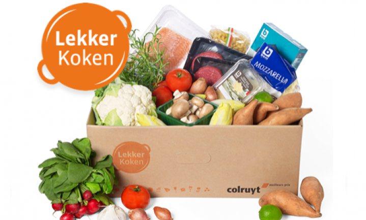 Colruyt lanceert kindvriendelijke maaltijdbox zonder abonnement