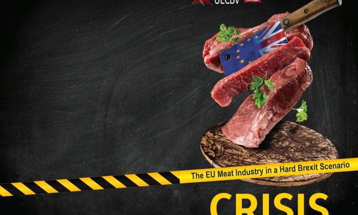 'Brexit leidt tot hevige crisis op Europese vleesmarkten'