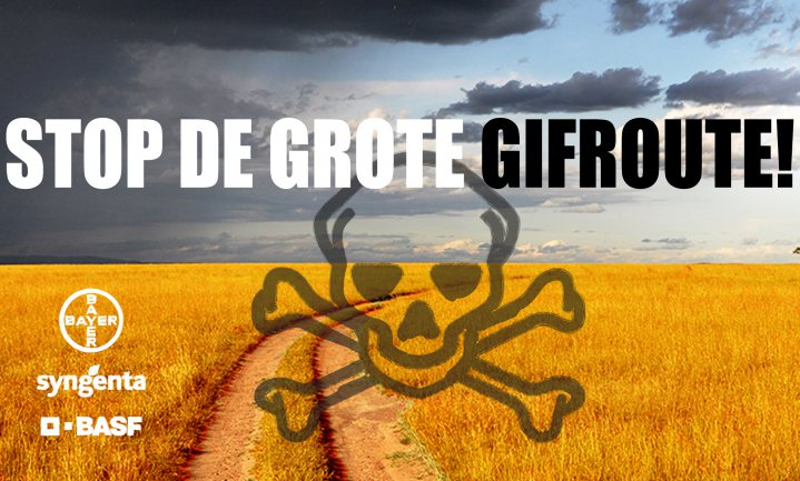 foodwatch: 'pesticide boemerang komt terug op het bord van de Europese consument'
