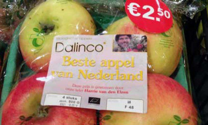 Dalinco Harrie van den Elzen 'beste appel van Nederland'
