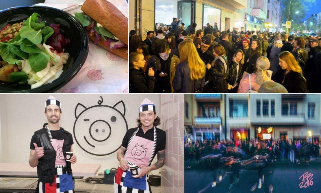 Politie grijpt in bij opening hip veganistisch restaurant