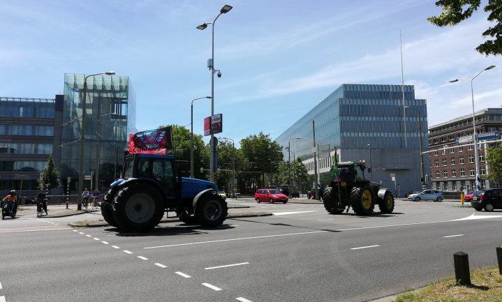 Boerenprotest bleef beperkt