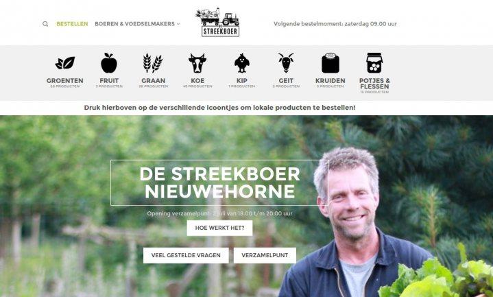 Friese Streekboer start met pick-up point
