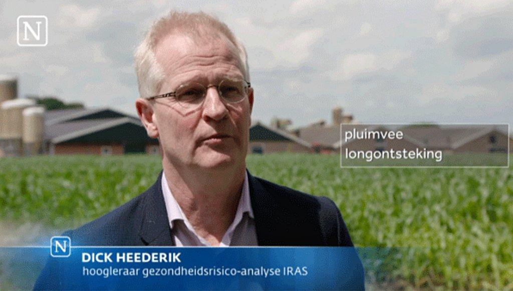 Rectificatie interview gesprek met Prof. Heederik inzake fijnstofrisico's