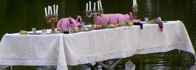 Het vintage varken