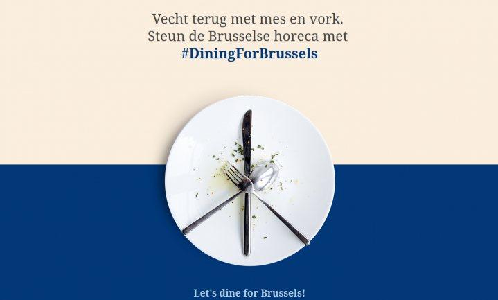 Brussel vecht 'met mes en vork' tegen terreur
