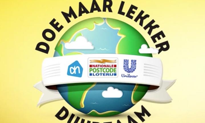 Postcode Loterij laat AH en Unilever lekker duurzaam doen