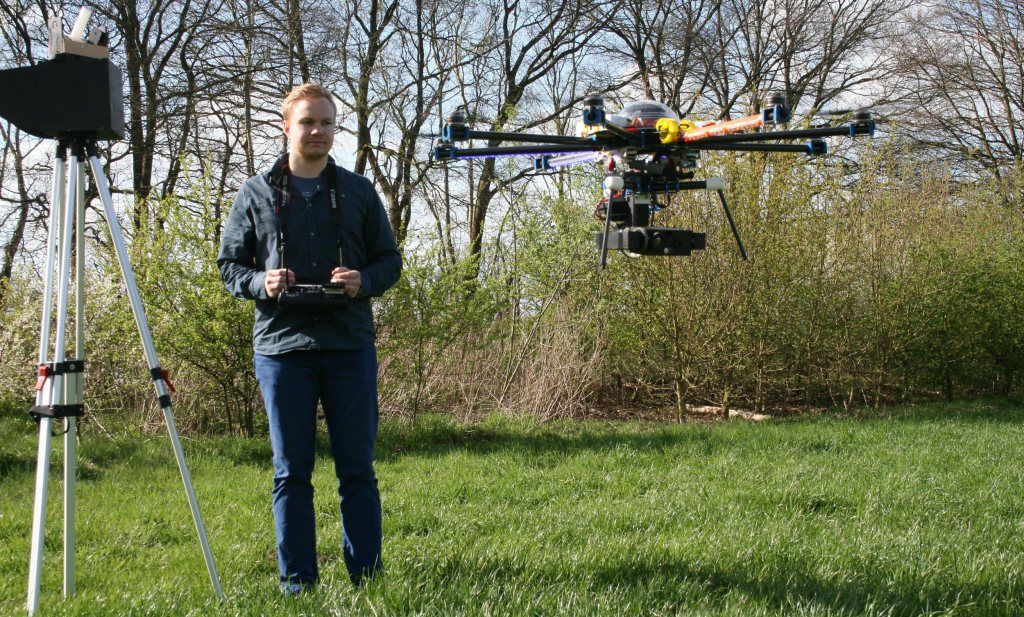 Drone met infraroodcamera kan reeën en weidevogels redden