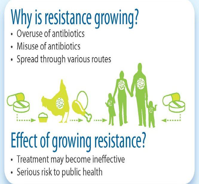 EFSA ziet antibiotica-resistentie stijgen