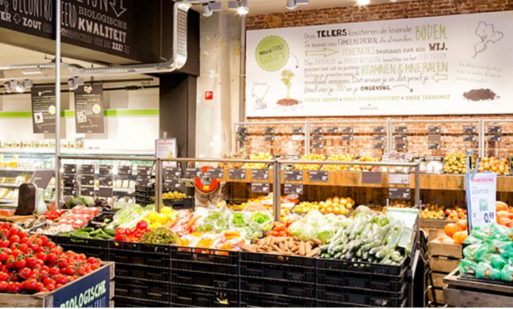 'Duurzaamheidsafspraken supermarkten weinig zichtbaar in schap'
