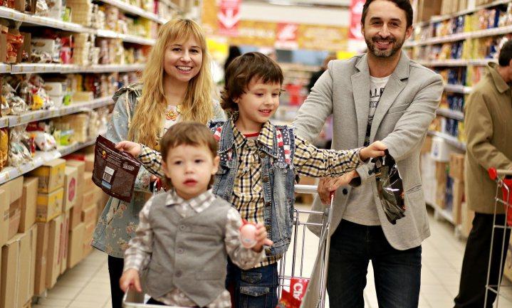 Zo 'heurt' het in de supermarkt