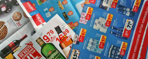 Nederland leest supermarktfolders