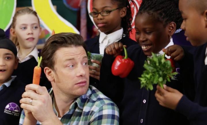 Jamie Oliver wil wereldwijde voedseleducatie